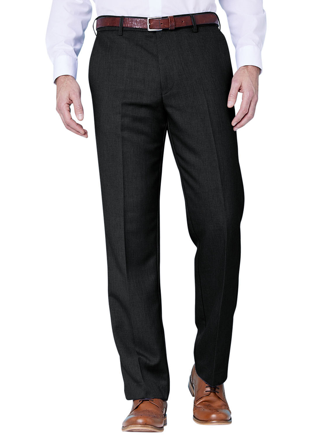 Farah Flex Trouser with Self-Adjusting Waistband