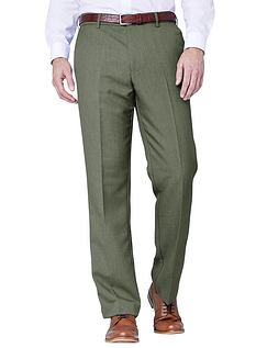 Farah Stretch Waistband Trouser - Olive