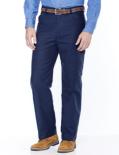 ALDON COTTON MOLESKIN TROUSERS