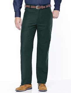 Cotton Moleskin Trouser - Petrel