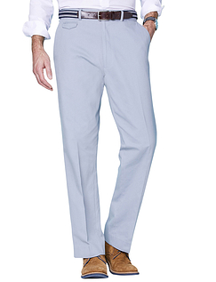 Cotton Chino Trouser - Airforce
