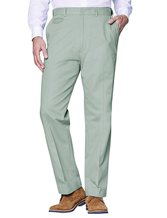 Cotton Chino Trouser - Mint