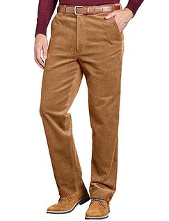 Corduroy Trouser  - Fawn