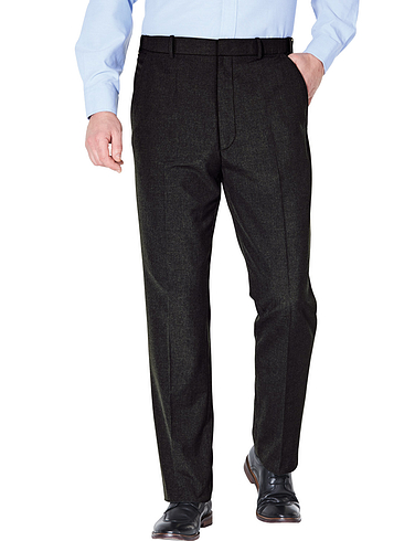 Mix And Match Teflon Coated Smart Trouser