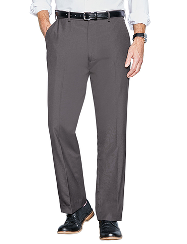High Rise Teflon Coated Smart Trouser