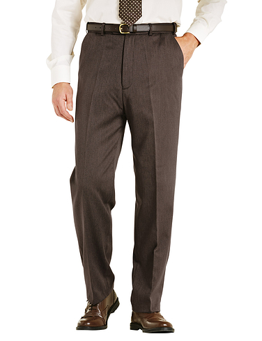 Warm Handle High Rise Formal Trouser