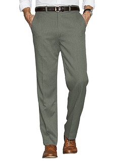 Mens High Waist Warm Lined Smart Trouser