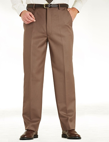 High Waisted Cavalry Twill Trousers