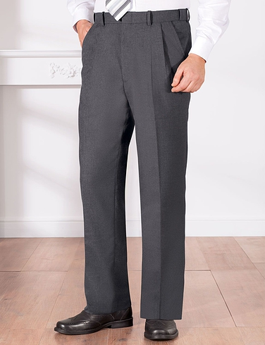 High Rise Trousers with Hidden Extra Waistband