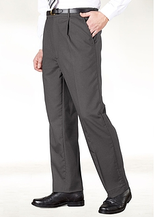 High Rise Hidden Extra Trousers - Grey
