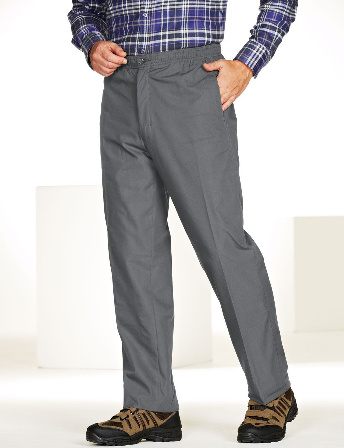 High Rise Fleece Lined Leisure Trousers