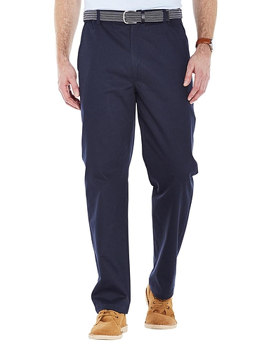 Stain and Water Resistant High Rise Trousers