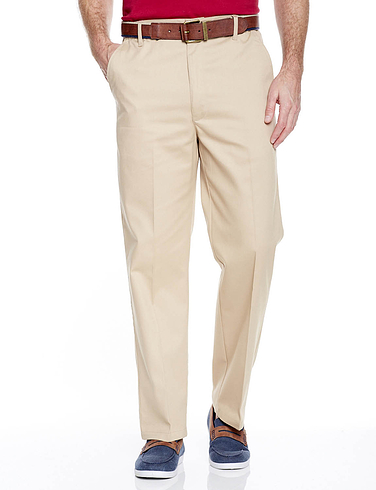 ab91d0e5924 Stain Resistant High Rise Trouser - Extra 2 inches