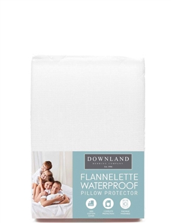 Luxury Waterproof Flannelette Pillow Protector