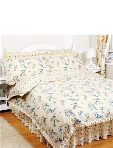 Periwinkle Quilt Cover And Pillowcase Set