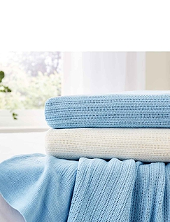 Supersoft Cotton Cellular Blankets