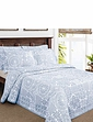 Jacquard Patchwork Bedspread and Pillowsham