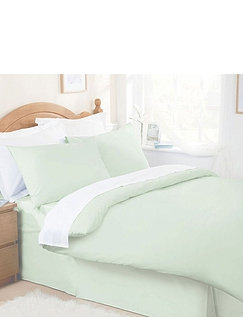 Belledorm Plain Dyed Easy- Care Bedlinen