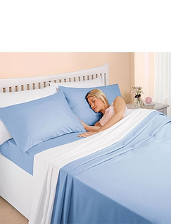 Supersoft Plain Dyed Flannelette Bedlinen