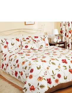 Charlotte Quilt Cover and Pillowcase Set by Rectella