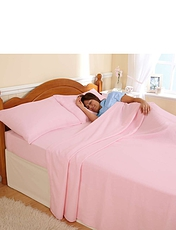 Super-Soft Flannelette Sheet & Pillowcase Set