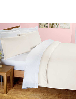 Superfine 200 Thread-Count Egyptian Cotton Percale Bedlinen