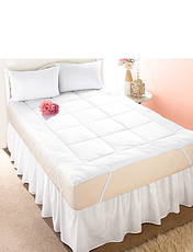 Feels Like Down Mattress Topper by Downland