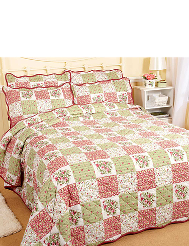 Rachel Patchwork Bedspread Set By Ringley Home