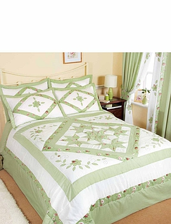 Ringley Home Alice Luxury Quilted Puffball Collection
