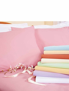 Superfine 200 Count Percale Poly/Cotton Bedlinen Fitted Sheet By Belledorm