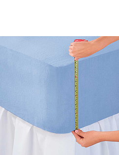 Exra Deep Cotton Jersey Fitted Sheets