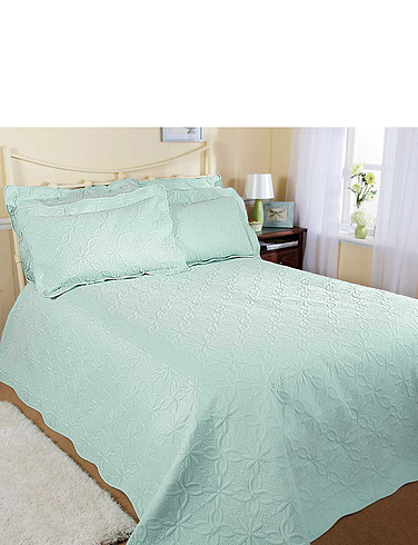 Super Soft Quilted Throwover Bedspread