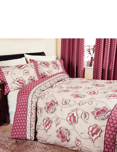 Kashmir Quilt Cover & Pillowcase Set By Catherine Lansfield
