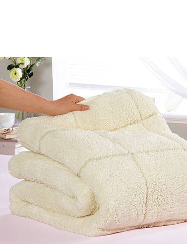 Sherpa Mattress Topper – Two Comfort Levels - Winter And Summer