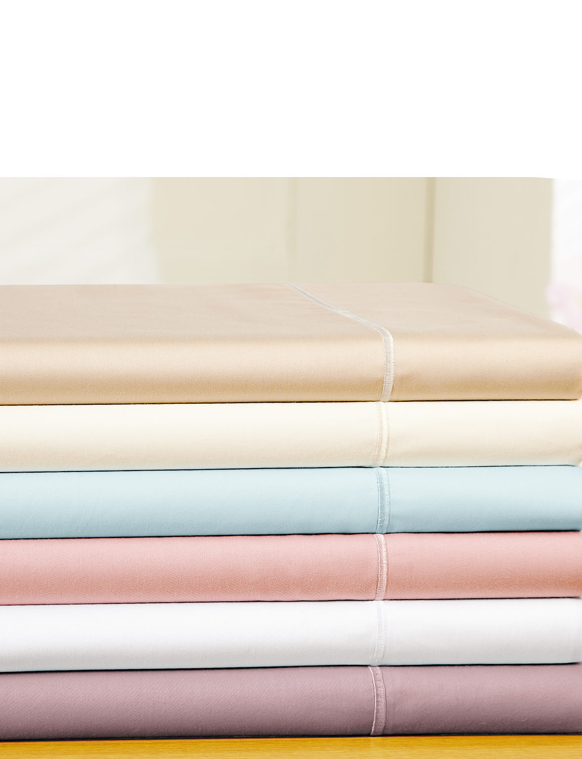 400 Thread Count Egyptian Cotton Sateen Fitted Sheet 12