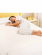 Luxury 2.5Cm Memory Foam Toppers By Silentnight