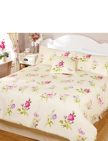 Summer Garden Lined Curtains