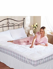 Hotel Quality Clusterfill Mattress Topper By Belledorm