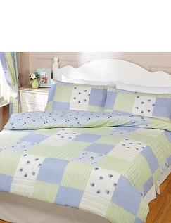 Patchwork Quilt Cover & Pillowcase Set