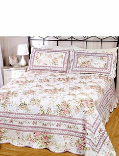 Hudson Quilted Bed-Spread Set