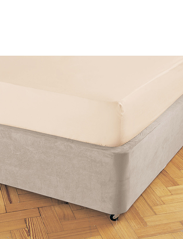 Luxury Faux Suede Divan Base Cover By Belledorm