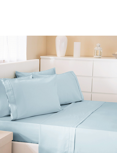 300 Thread Count Cotton Rich Bed-lInen Pillowcase By Belledorm