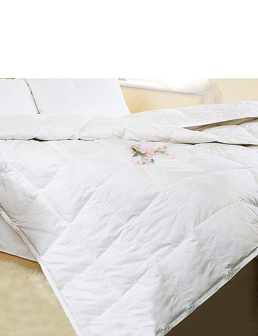 Goose Feather And Down 4 Seasons Duvet Set By Downland
