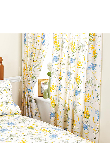 Viola Lined Curtains And Free Tiebacks