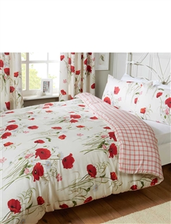 Wild Poppies Quilt Cover & Pillowcase Set By Catherine Lansfield