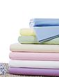 Belledorm Supersoft Plain Dyed Flannelette Flat Sheet