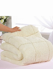 Sherpa Mattress Topper - Two Comfort Levels - Summer and Winter