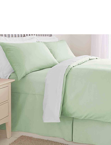 Plain Dyed Easy Care Bedlinen By Belledorm - Fitted Valance Sheet