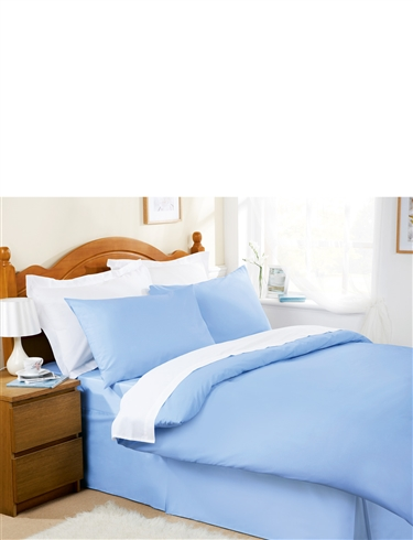 Plain Dyed Easy-Care Bedlinen by Belledorm Duvet Cover
