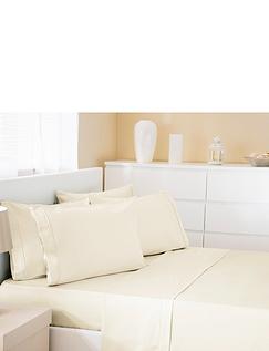 500 Thread-Count Cotton Rich Premium Blend - Flat Sheet